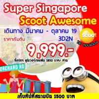 SUPERB SINGAPORE SCOOT AWESOME 3DAYS